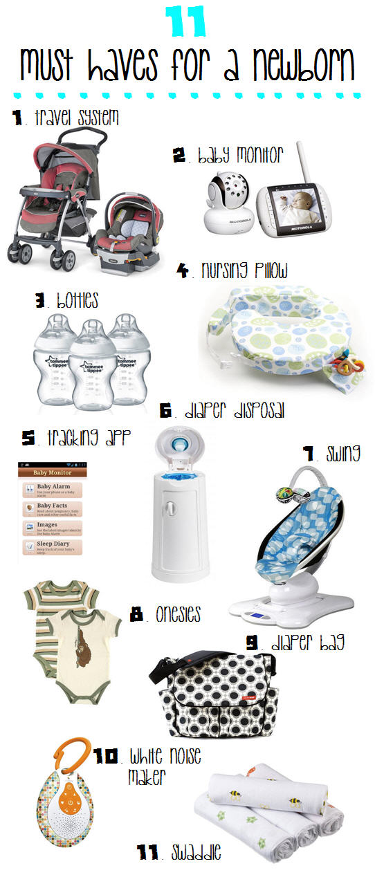 11 Must Haves For Newborns